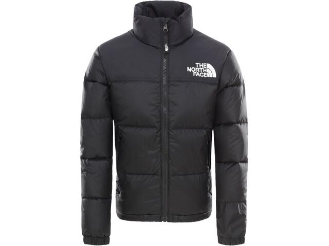 60% günstig billig werden verschiedene Stile The North Face Retro Nuptse Down Jacket Kids tnf black